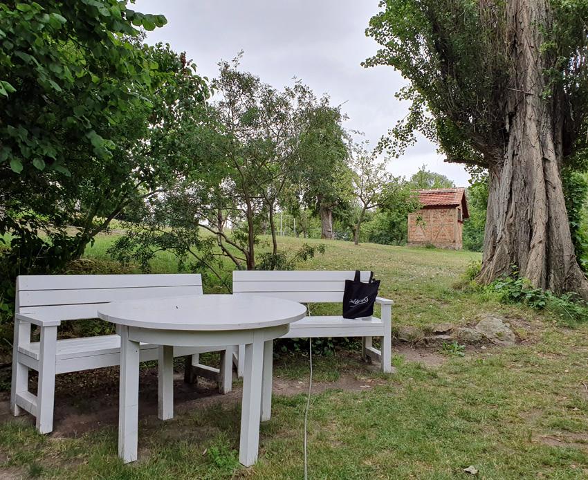 Sitzecke am See