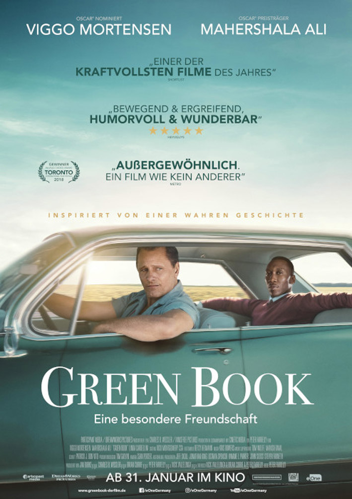 Green Book Filmplakat