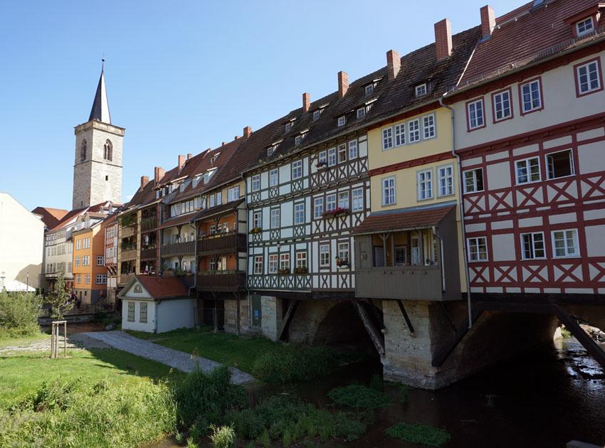 Erfurt 5 Städte im Osten