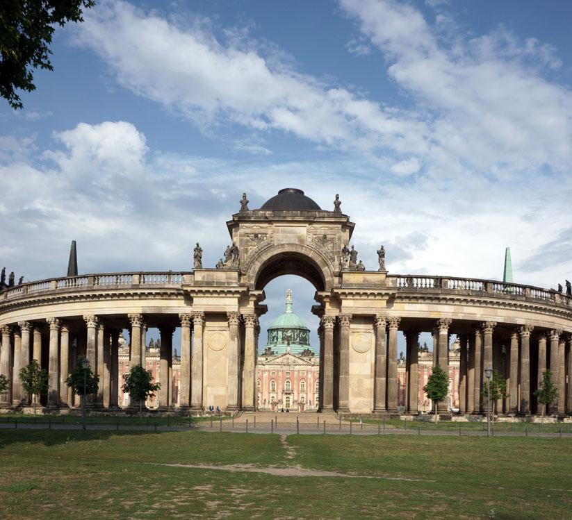 Potsdam 5 Städte im Osten